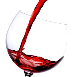 האם יין אדום בריא?